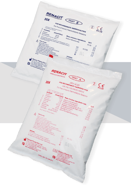 Renacit Dry : Citrate Concentrate